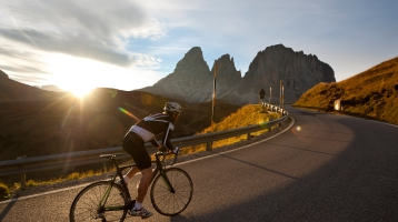 Roadbike in South Tyrol