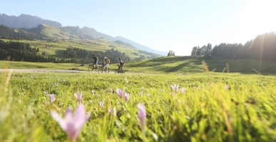 Mountainbike in Zuid-Tirol