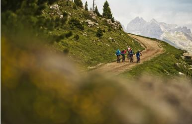 Sellaronda - die MTB-Tour