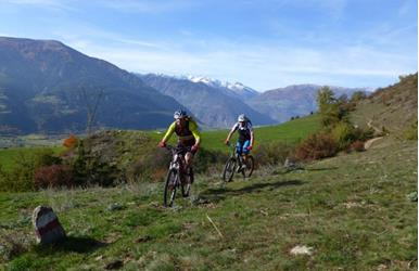 The magic trails of Prato allo Stelvio