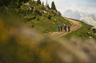 Sella Ronda - the MTB tour