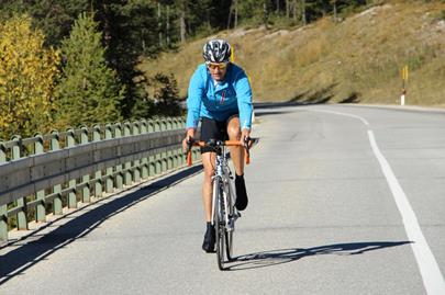 By road bike into Val Senales/Schnalstal